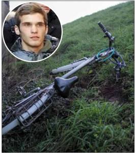 Nicola Tincani e la sua bicicletta, ritrovata domenica