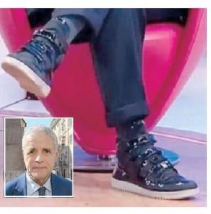 Le scarpe di Roberto Formigoni