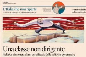 La classe non dirigente, Valerio Castronovo sul Sole 24 Ore