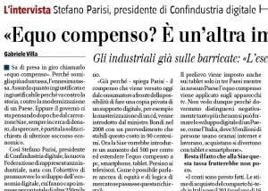 """Stefano Parisi (Confindustria): """"Equo compenso? È un'altra imposta assurda"""""""
