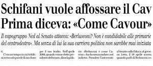 Schifani vuole affossare Berlusconi, Andrea Cuomo sul Giornale