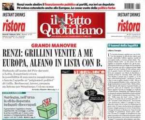 """Marco Travaglio sul Fatto Quotidiano: """"Il tunnel della legalità"""""""