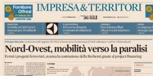 """""""Nord-Ovest, mobilità verso la paralisi"""", Marco Morino sul Sole 24 Ore"""