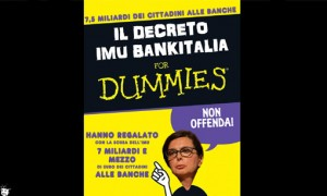 "Blog Beppe Grillo: ""Imu Bankitalia for dummies"""