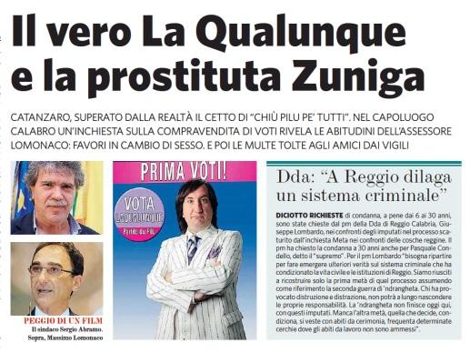 """L'assessore di Catanzaro alla prostituta: """"Carta di identità ok, un bacio ora lo merito"""""""