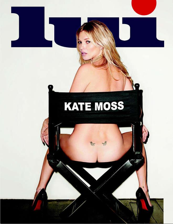 """Kate Moss mostra il lato B su """"Lui"""" (foto)"""