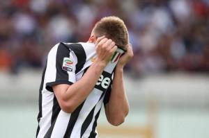 Il 'bad boy' Bendtner ai tempi della Juve (LaPresse)