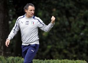 Cesare Prandelli, allenatore dell'Italia (foto LaPresse)