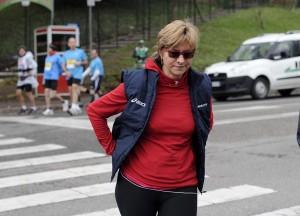 Roberta Pinotti, ministro della Difesa, maratoneta anche in politica, da Sampierdarena al Governo (Foto La Presse=