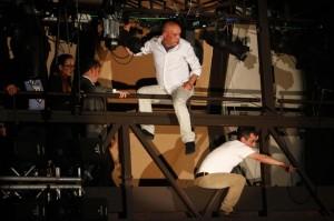 Sollazzo e Marsicano da Sanremo a Napoli: la protesta dei sabotatori
