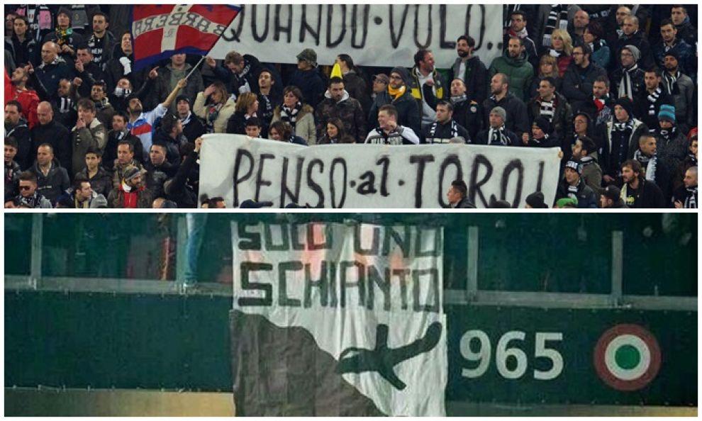Serie A Juve, striscioni su Superga tifosi bianconeri denunciati