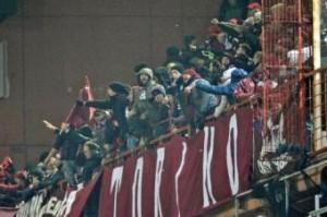 Torino, cori contro Napoli: curva granata chiusa con la condizionale (LaPresse)