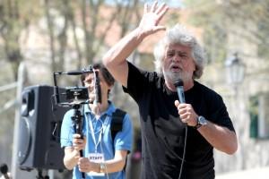 Beppe Grillo (foto Ansa)