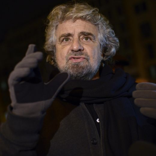 Beppe Grillo (Foto Lapresse)