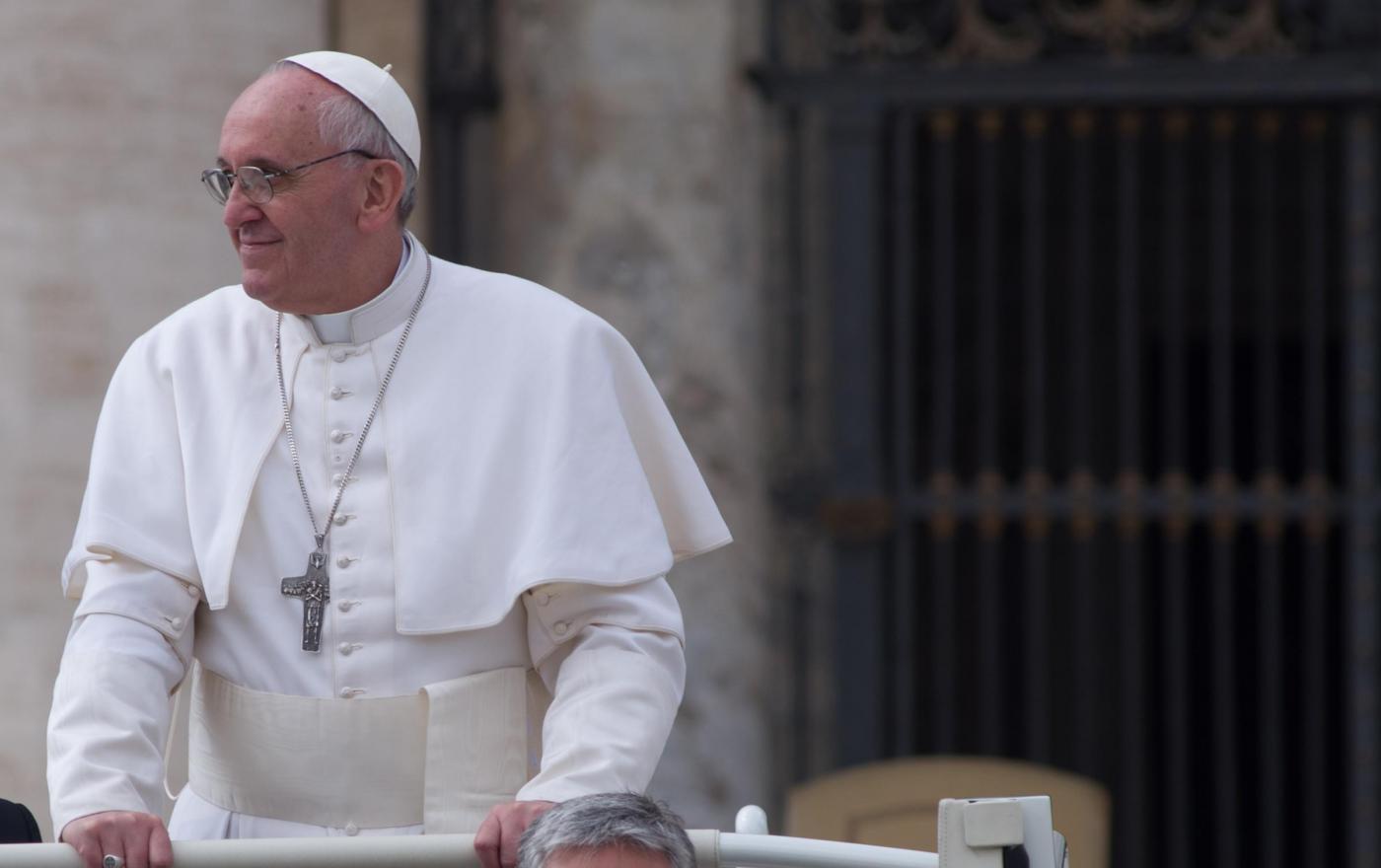 papa Francesco (Foto Lapresse)