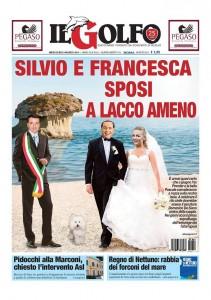 """Il Golfo: """"Berlusconi e Francesca Pascale, nozze il 13 giugno a Ischia"""""""