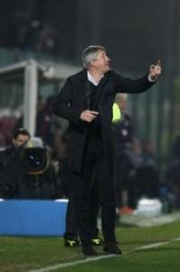 Brescia-Carpi, formazioni Serie B: Bergodi con Sodinha dietro a Caracciolo (LaPresse)