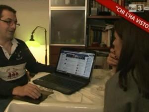 Il marito di Elena Ceste mostra i messaggi Facebook della moglie a Chi 'ha visto?
