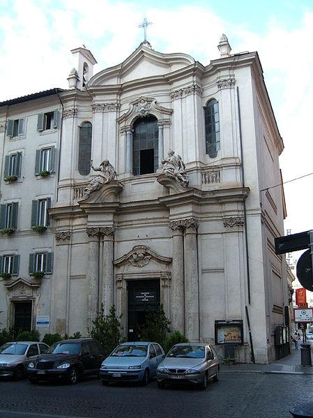 La chiesa del Santissimo Sacramento a Roma