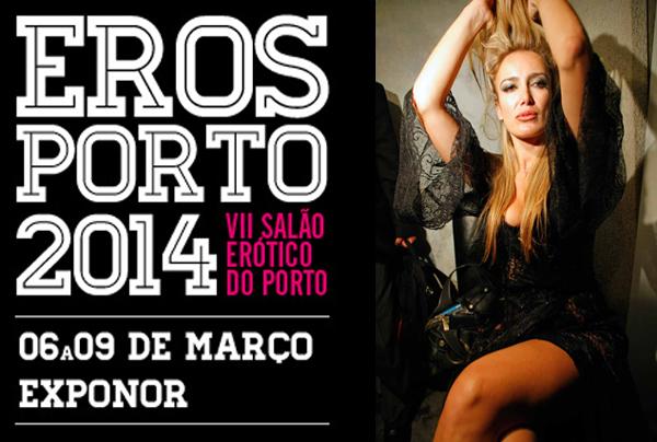 Patrizia D'Addario ospite d'onore ad Eros Porto 2014