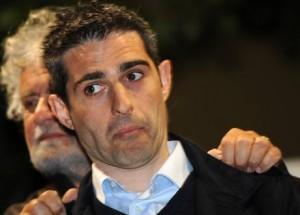 Federico Pizzarotti e Beppe Grillo