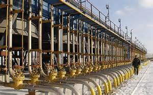 Impianto russo per produzione gas