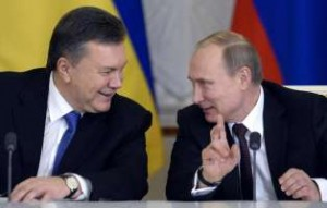 Ianukovich con Putin