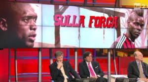 Domenica Sportiva, che gaffe: Balotelli e Seedorf sulla forca (video)