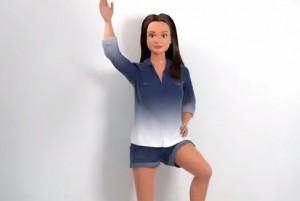 "Lammely, la ""anti-Barbie"" con le misure reali di Nickolay Lamm (video)"
