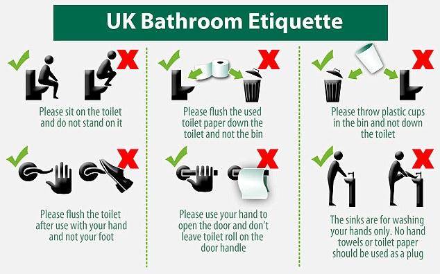 """Lloyds Bank, istruzioni in bagno: """"Non fate pipì in piedi, lavate solo le mani"""""""