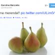 "Carolina Marcialis twitta 4 pere dopo Milan-Parma. Cassano: ""Per la dieta"""