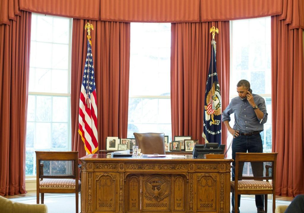 Obama parla 90 minuti al telefono con Putin