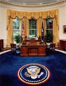 L'ufficio ovale alla Casa Bianca