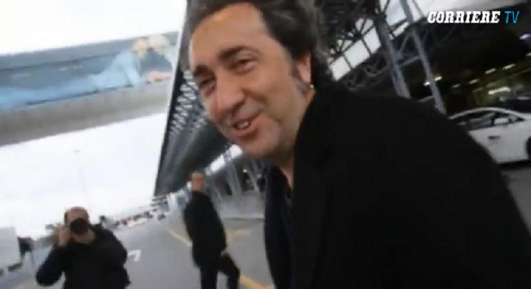 """Paolo Sorrentino torna in Italia: """"Mi fate sentire come Belen"""" (video)"""