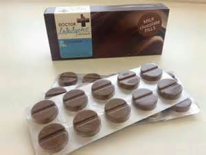 Le pillole curative al cioccolato