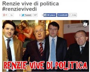 """Blog, Beppe Grillo a Matteo Renzi: """"Taglio Senato incostituzionale"""""""