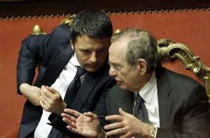 Renzi, rischio manovra ad aprile: spread basso e sblocco crediti per evitarla