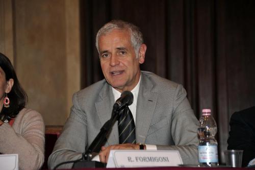 L'ex governatore lombardo Roberto Formigoni
