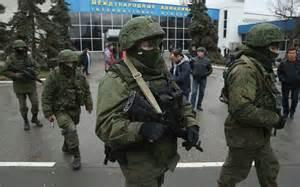 Truppe speciali russe in Crimea