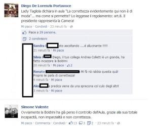 """Laura Boldrini: """"Correttezza non è di moda"""". Bagarre con M5s anche su Fb (video)"""