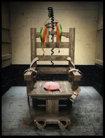Usa pena di morte boia oklahoma senza veleni ma c 39 la for Sedia elettrica edison
