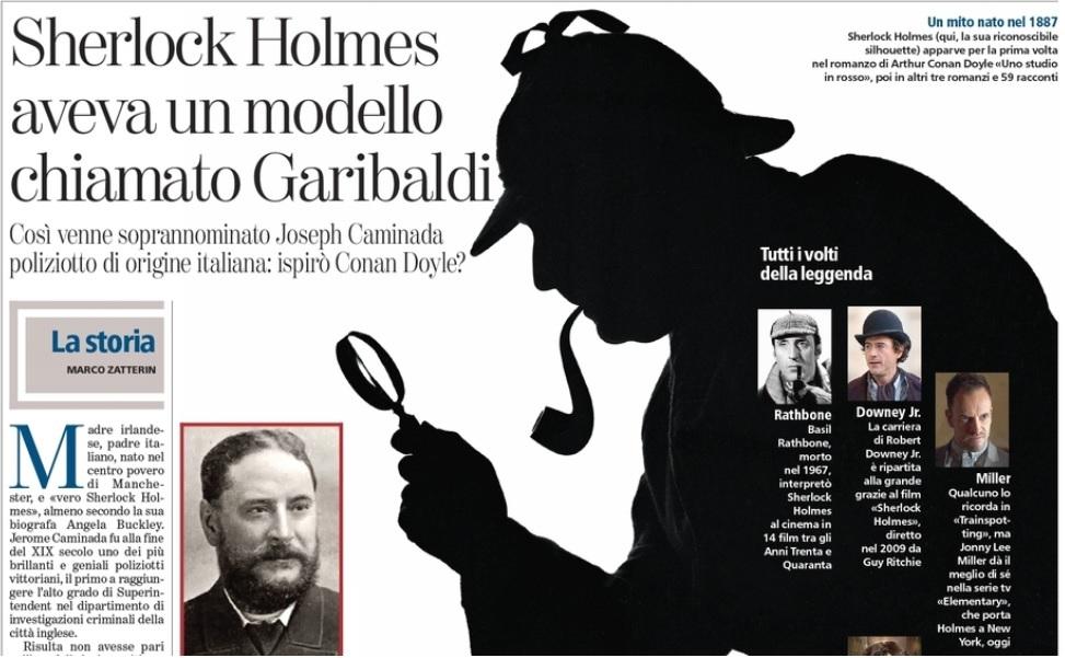 """Il vero Sherlock Holmes? Jerome Caminada, il """"Garibaldi"""" degli investigatori"""