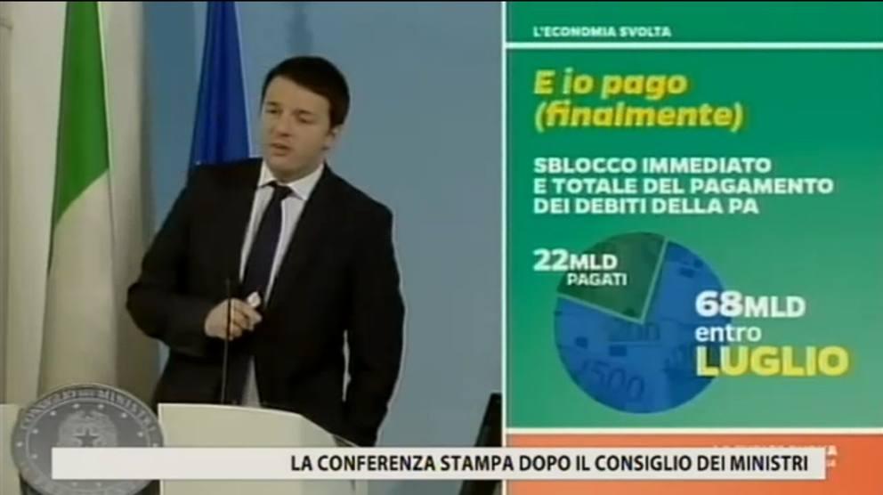 """Renzi e le slide delle riforme: """"Pesce rosso tema fondamentale"""" (foto) 9"""