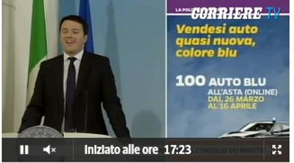 """Renzi e le slide delle riforme: """"Pesce rosso tema fondamentale"""" (foto) 7"""