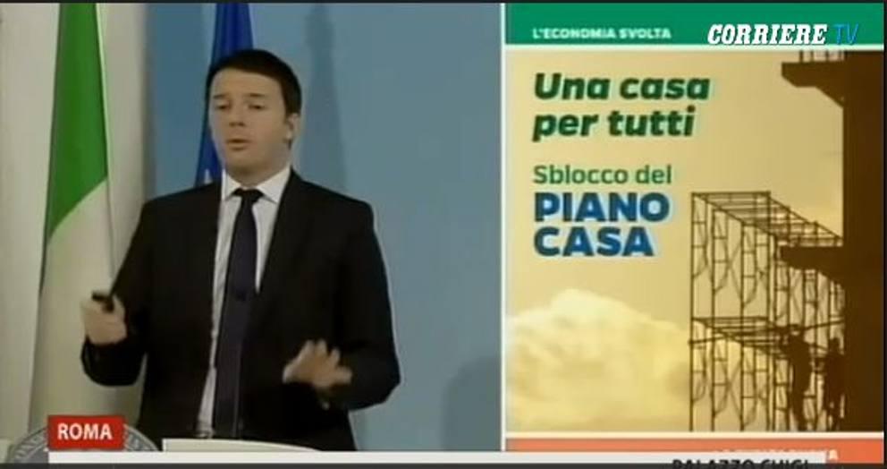 """Renzi e le slide delle riforme: """"Pesce rosso tema fondamentale"""" (foto) 2"""