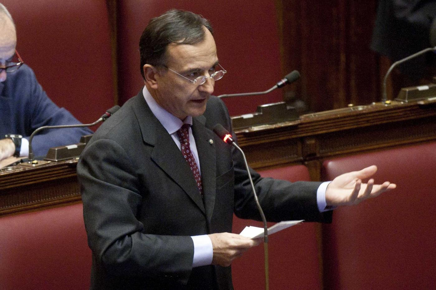 Franco Frattini (Lapresse)