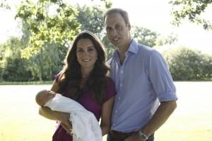 Gb, William e Kate Middlenton scelgono tata spagnola per il principino George