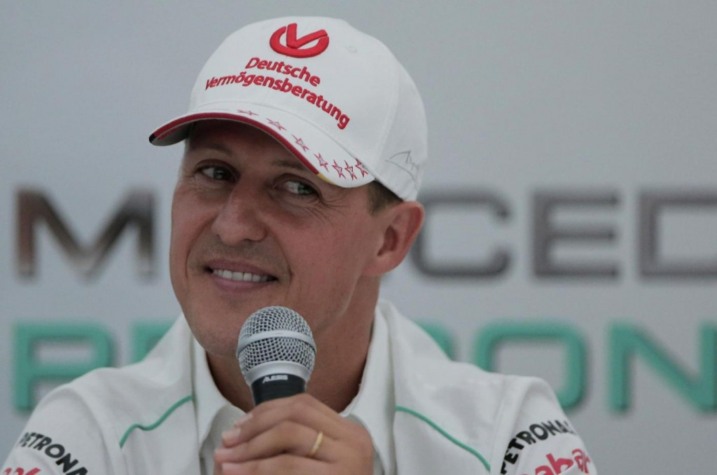 "Michael Schumacher. Gazzetta: ""Respira da solo e ascolta voci amiche"""