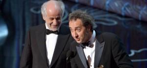 """Oscar a Paolo Sorrentino. Grande bellezza: """"Grazie a Fellini Maradona Scorsese"""""""
