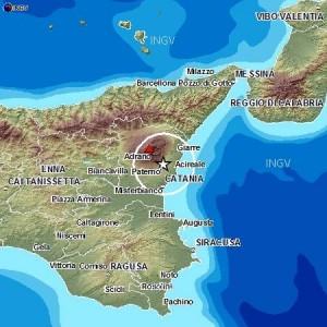 Terremoto Etna, 3 scosse in 15 minuti: più forte del 3 a Catania, Milo, Acireale